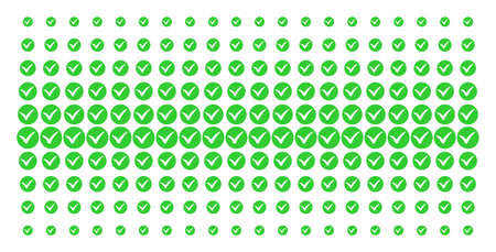 Apply icon halftone pattern, constructed for backgrounds, covers, templates and abstract compositions. Vector apply shapes arranged into halftone matrix.