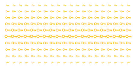 Key icon halftone pattern, designed for backgrounds, covers, templates and abstract effects. Vector key objects arranged into halftone matrix. Stock Illustratie