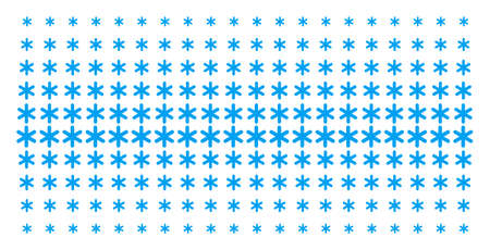 Snowflake icon halftone pattern, designed for backgrounds, covers, templates and abstraction concepts. Vector snowflake symbols arranged into halftone matrix.