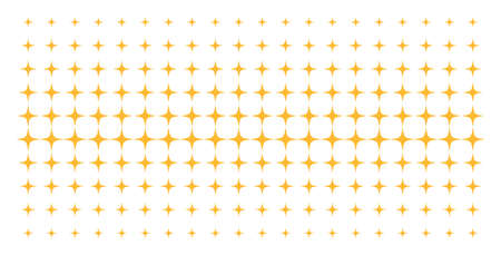 Space star icon halftone pattern, constructed for backgrounds, covers, templates and abstraction concepts. Vector space star symbols organized into halftone matrix.