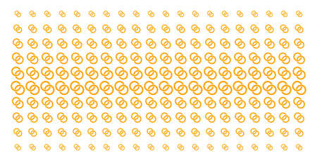 Wedding rings icon halftone pattern, designed for backgrounds, covers, templates and abstract concepts. Vector wedding rings items organized into halftone matrix. 向量圖像