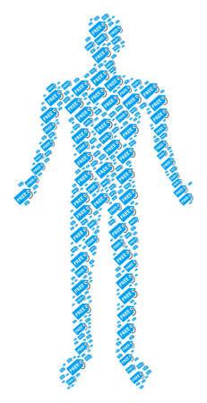 Free tag human figure.