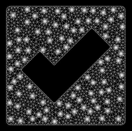 Gold square mosaic and solid check. Vector geographic check in yellow golden color variations. Abstract mosaic is constructed with random flat square parts.