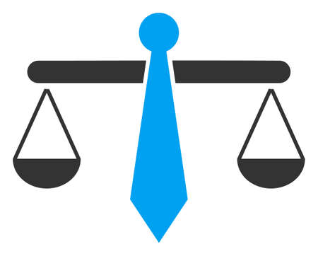 Raster lawyer weight v2 flat icon. Raster pictogram style is a flat symbol lawyer weight v2 icon on a white background.
