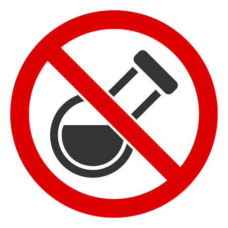 No Retort icon. Illustration style is a flat iconic symbol inside red crossed circle on a white background. Simple No Retort raster sign, designed for rules, restrictions, regulations,