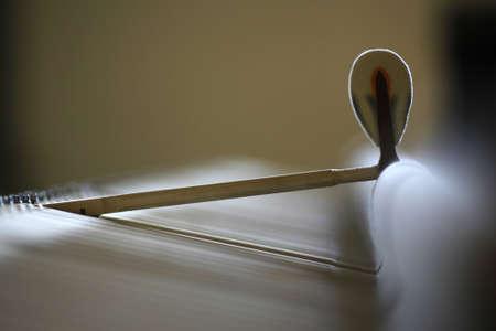 piano: martillo del piano de cola Steinway Foto de archivo