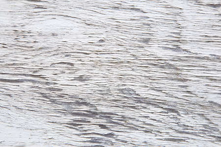 horizontal pattern of old white paint on weathered board Stock Photo - 16808189
