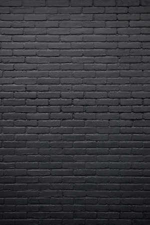 verticale deel van zwart geschilderde muur
