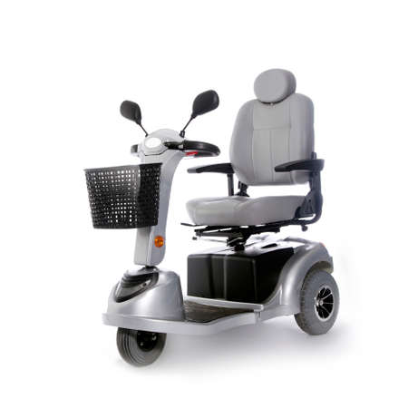 motorized: motorized transport fot elderly or physically disabled people