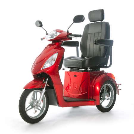 motorizado: transporte motorizado fot personas mayores o con discapacidad f�sica Foto de archivo