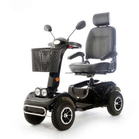 gemotoriseerd vervoer fot ouderen of lichamelijk gehandicapte mensen Stockfoto