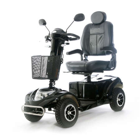 motorized transport fot elderly or physically disabled people photo