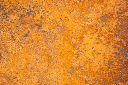 corroding: orange and red rusty steel background Stock Photo