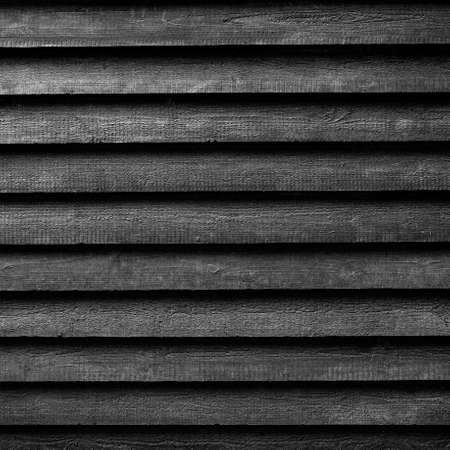 barn black and white: square part of black wooden fence or part of black painted barn in black and white Stock Photo