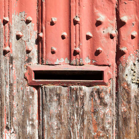 paint metal mailbox mailbox hole stock photos royalty free mailbox hole images and