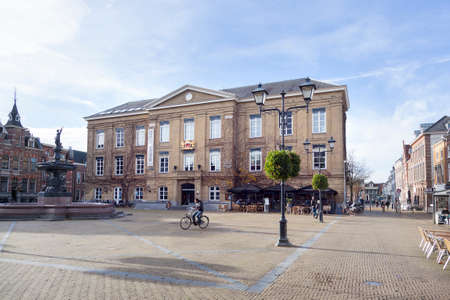museum in former old city hall in centre of town gorinchem in the netherlands
