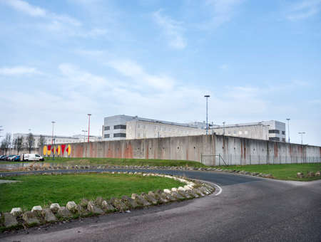 prison at almere in the province of flevoland in the netherlands