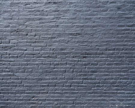 part of silver gray painted brick wall Фото со стока