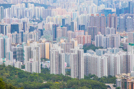 High rise building in Hong Kong