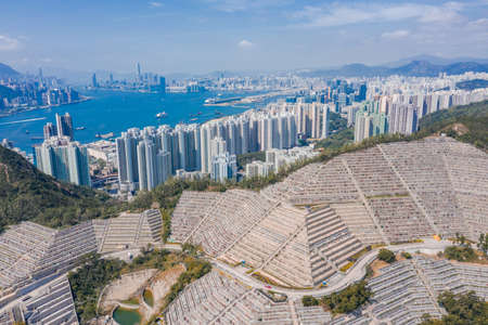 Public cemetery in Hong Kong