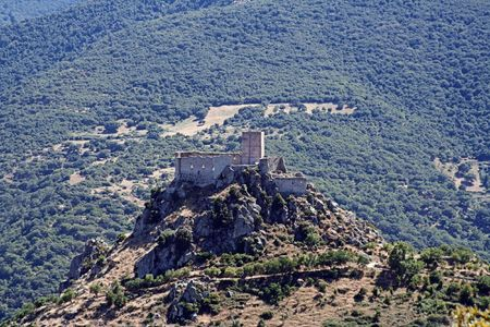 castle of average age, Sardinia,