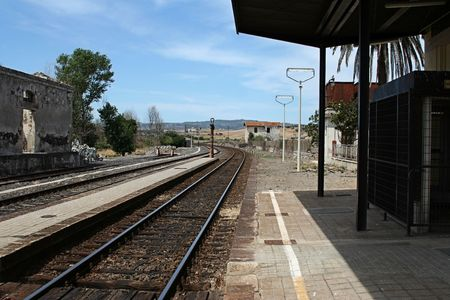 railway station of Sardinia