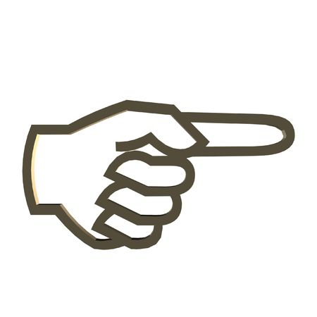 clipart, hand, finger, Stock Photo