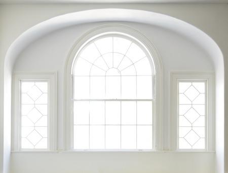 White Windows in a White Interior