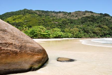 praia: Ilha Grande: Beach Praia Lopes Mendes Rio de Janeiro State Brazil