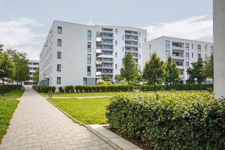 urban housing: Modern residential buildings, apartments in a new urban housing