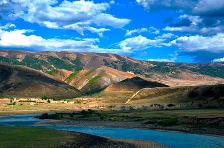 China's western plateau