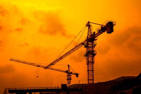 tower crane Editorial
