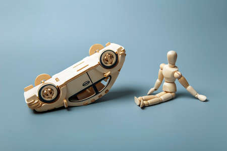 traffic accidents: Traffic Accidents Stock Photo