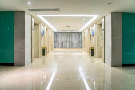 corridors: Elevators corridors Editorial
