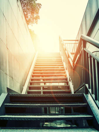 irradiation: Stairs Stock Photo