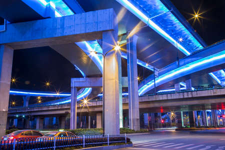commercial real estate: Overpass under bridge