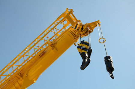 mobile crane: Mobile crane Stock Photo