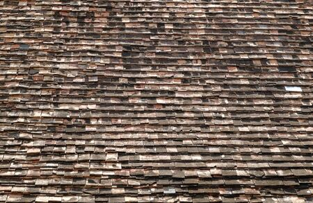 shingles: Wood shingles roof