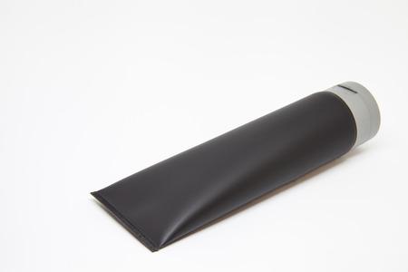 black tube with gray cap Banco de Imagens - 119078384