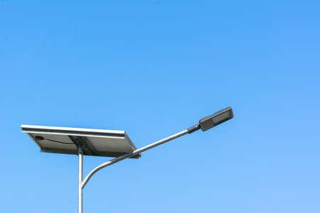 Street light bulb and solar power