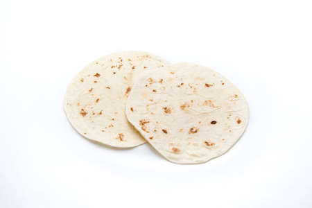 tortillas: tortillas with white background