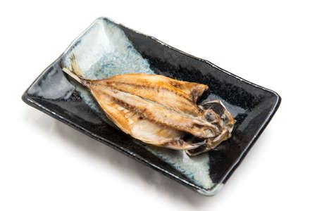 Aji no Hiraoki, Dried fish Stock Photo