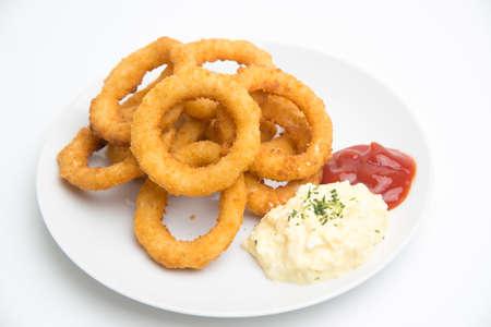 ketchup and tartar sauce Stock Photo