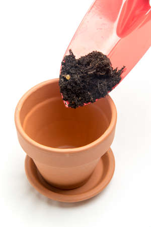 potting soil: gardening