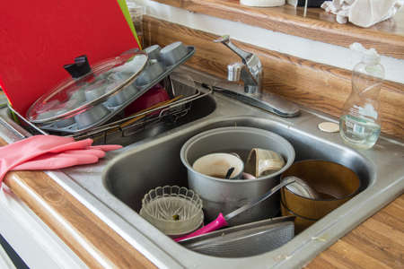 unwashed: dish washing