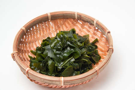 sea weed: wakame sea weed Stock Photo