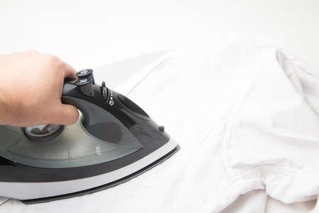 ironing: ironing