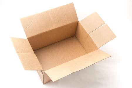 empty box Foto de archivo