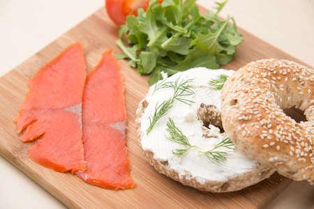 salmon begal 免版税图像