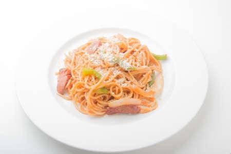 puttanesca: japanese style spagetti